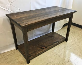 Grand Pine Console Table