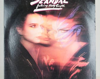 Scandal Featuring Patty Smyth Warrior 1984 Columbia Records Original Vintage Vinyl Record Album LP