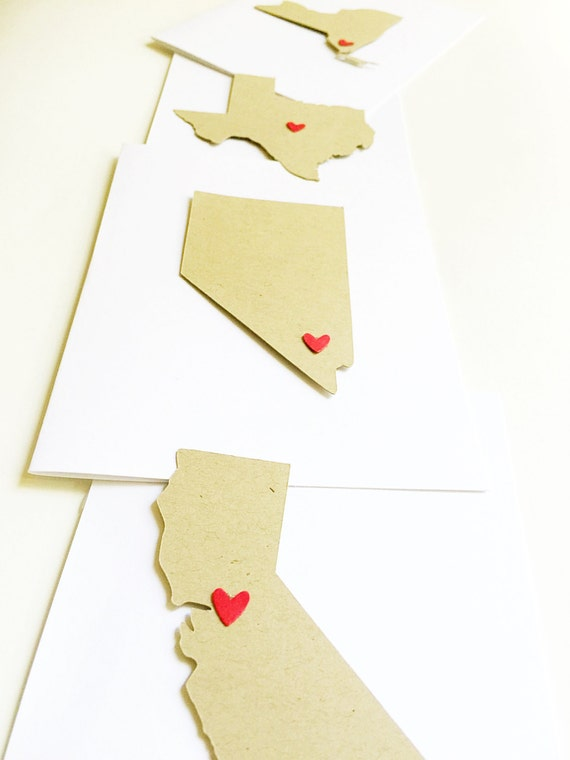 Affordable Wedding Thank You Cards. Wedding Location Map. Engagement Party Thank You Cards. State Love Wedding, Engagement Announcements
