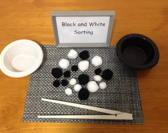 Black and White Sorting