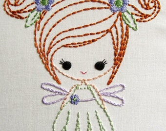 Fairy, Genie, and  Big Bow Dress up Cutesie Girls Digital Embroidery Patterns