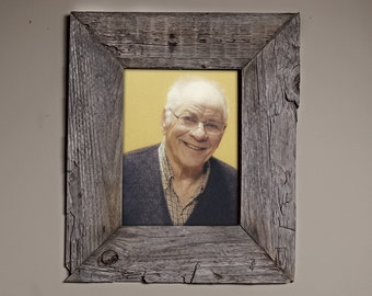 Real Barn Wood Picture Frame 8X10