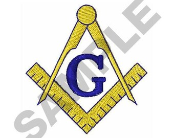 Small Freemasons - Machine Embroidery Design