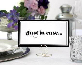 Romantic Bathroom Basket Sign Wedding Printable Deco