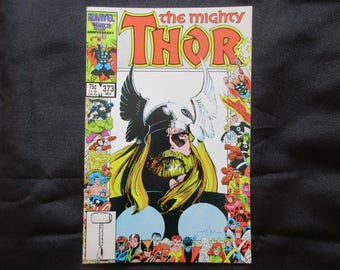 The Mighty Thor #373 (X-Factor Tie in) Marvel Comics 1986