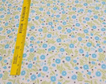 Cozy Cotton-Aqua-Cotton Flannel Fabric from Robert Kaufman Fabrics