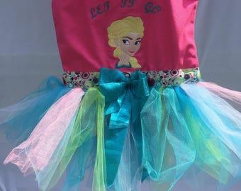 Elsa Let It Go Tulle Tutu Tote Bag