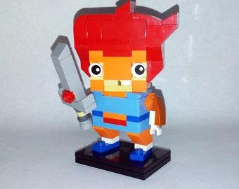 "3"" Lion-O from Thundercats Likeness Figure"