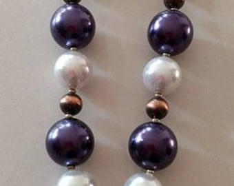 Princess chunky bead necklace