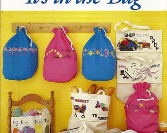 It's In The Bag / Counted Cross Stitch Pattern Book No 919