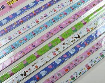 Peppa Pig Origami Lucky Star Paper Strips Star Folding DIY - Pack of 50 Strips