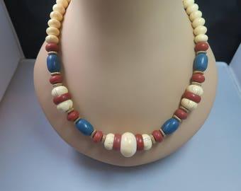 Avon Indian Summer Necklace in Original Box