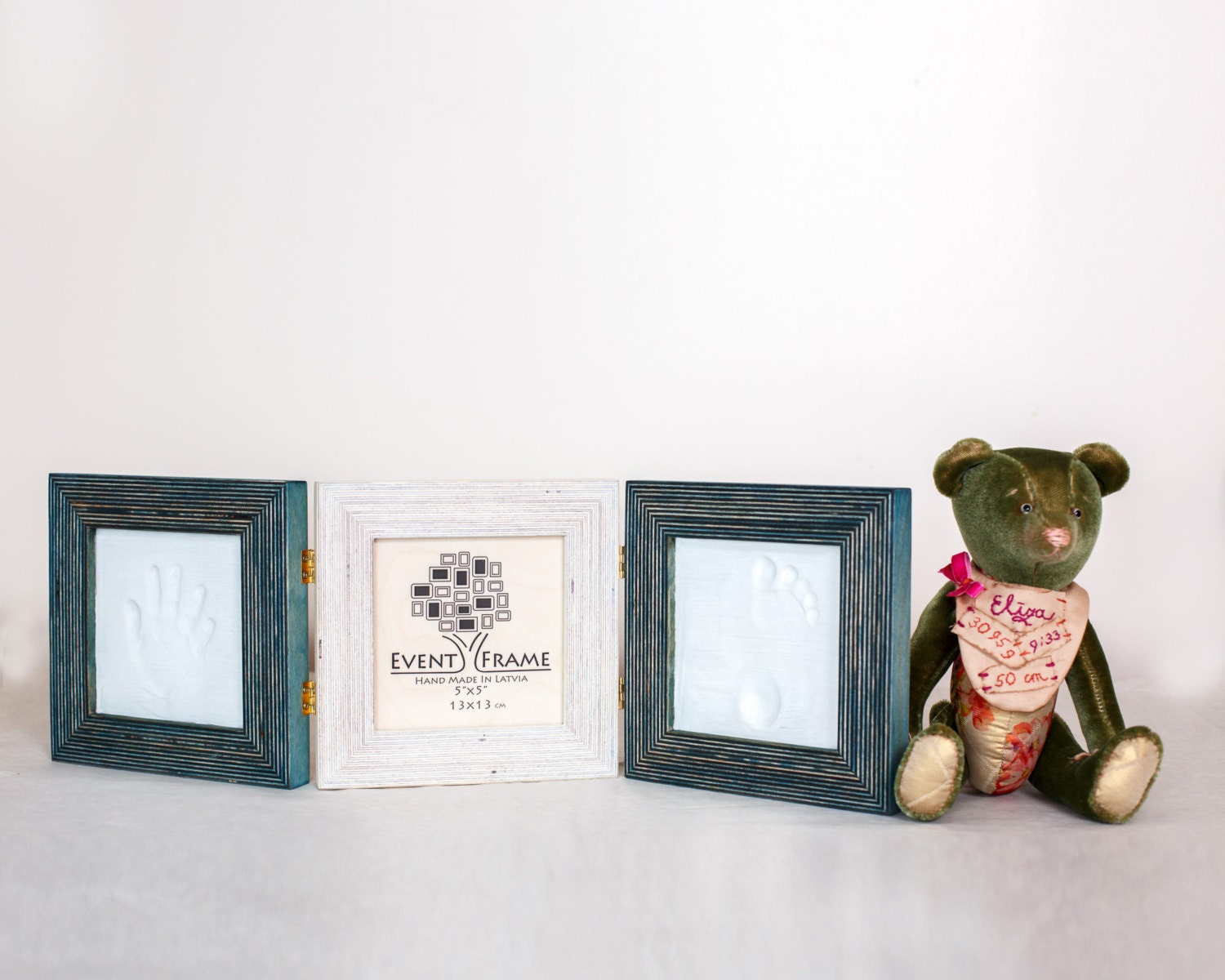 Baby Handprint and Footprint Frame Kit Baby Shower Party