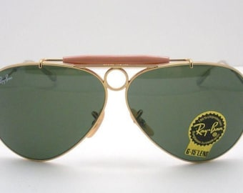 ray ban sunglasses vintage aviator