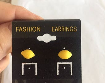 Lemon Earrings!!