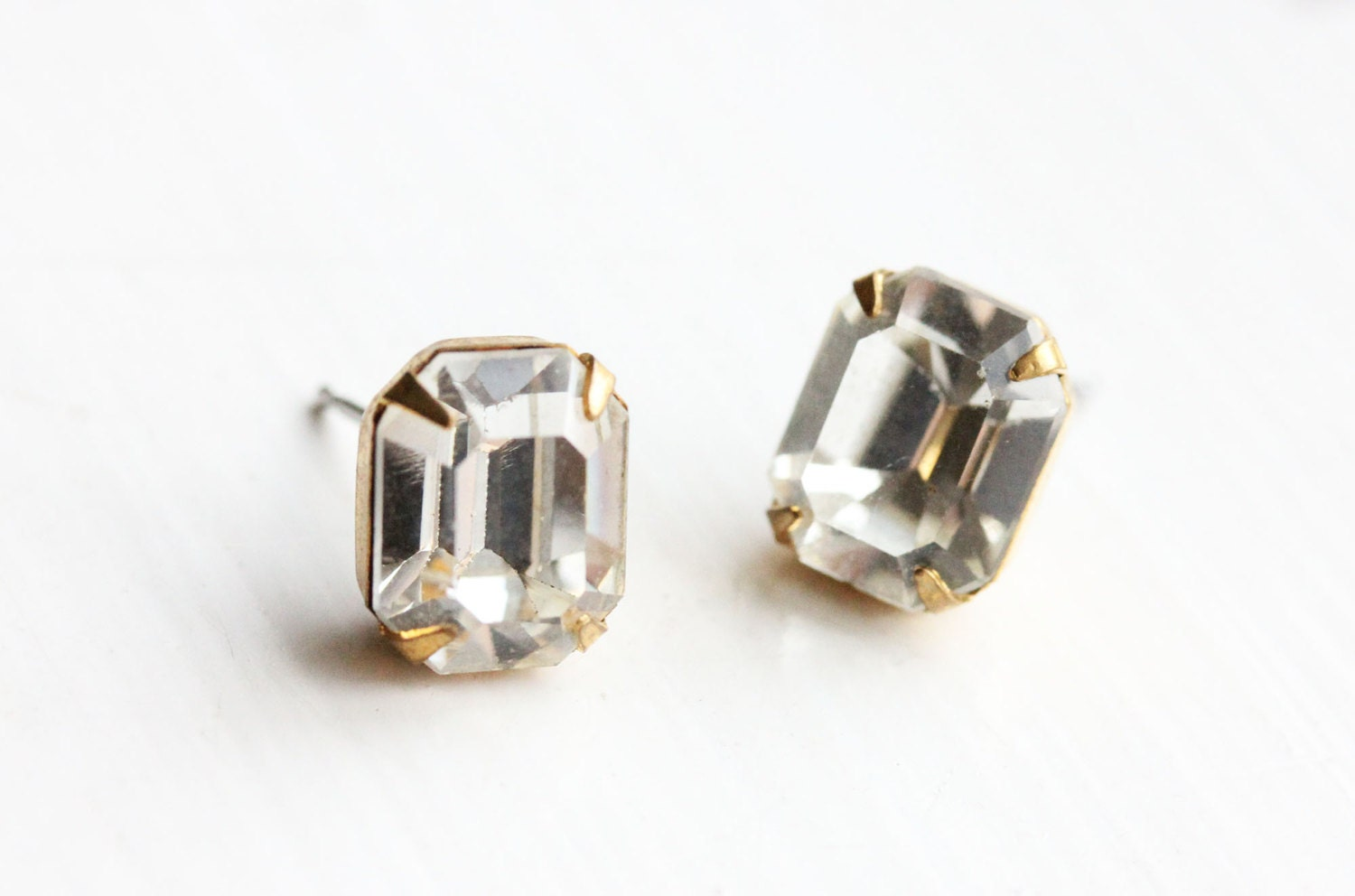 chanel large gold authentic products stud cc crystal classic earrings logo