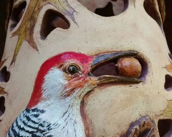 Red-bellied Woodpecker Luminary