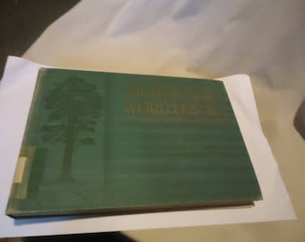 Vintage 1933 Picturesque Word Origins Hardback Book From Websters New International Dictionary,  collectable
