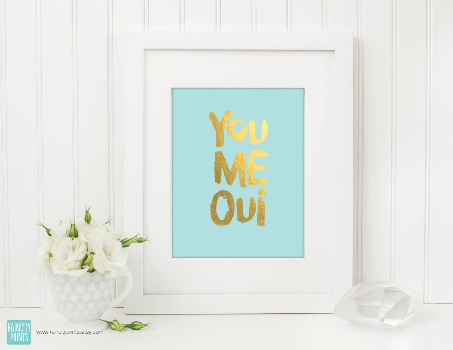 Spring wall decor you and me