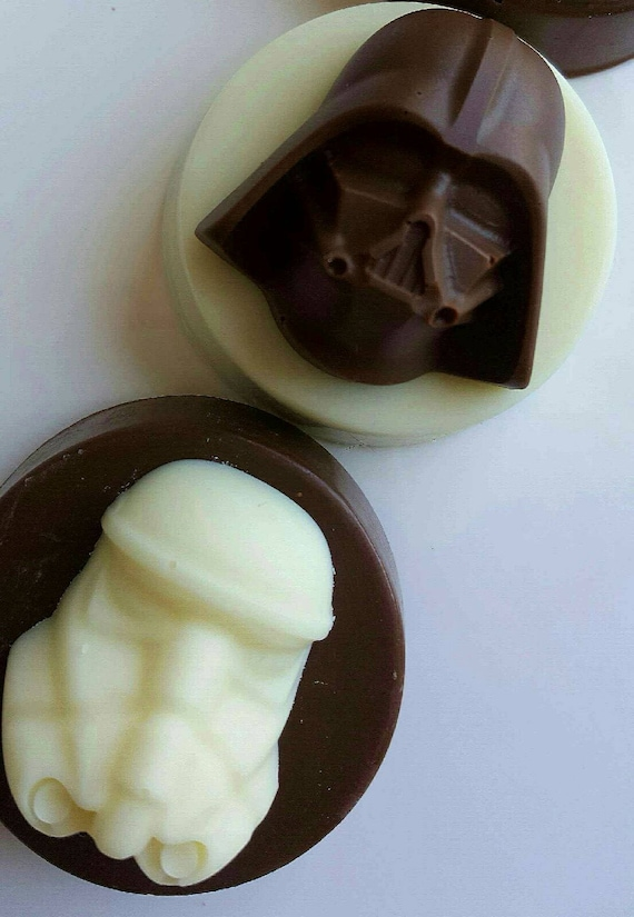 Gourmet Chocolate Covered Oreos Cookies Star Wars Darth Vader