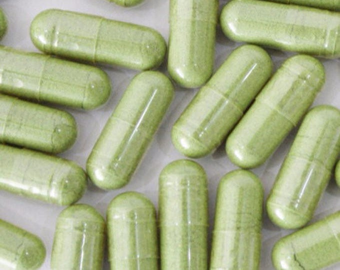 Chlorella (Cracked Cell Wall) and Spirulina Capsules - Certified Organic