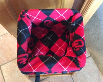 Restaurant Highchair Seat Cover, OU Sooners