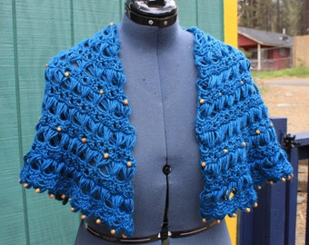 Witches Shawl with Beading
