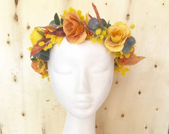 "The ""Thelma"" Flower Crown"