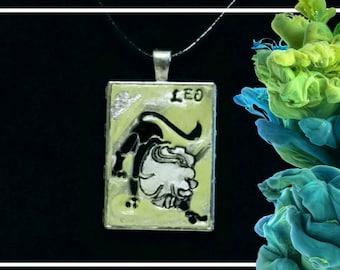 Leo August Peridot Pendant Necklace
