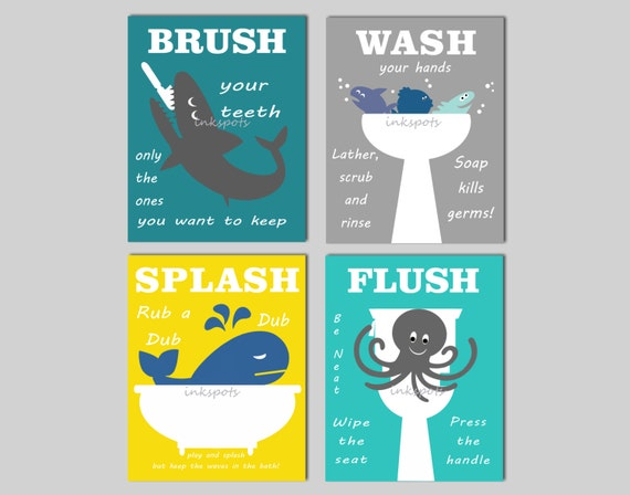 bathroom rules for kids bathroom prints bath wall bathroom 16379