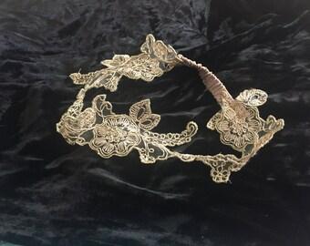 Shiny Lace Headband