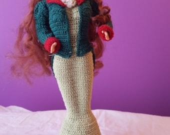 Crocheted St. Patrick's Irish Barbie