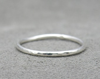 Stacking Ring - Hammered