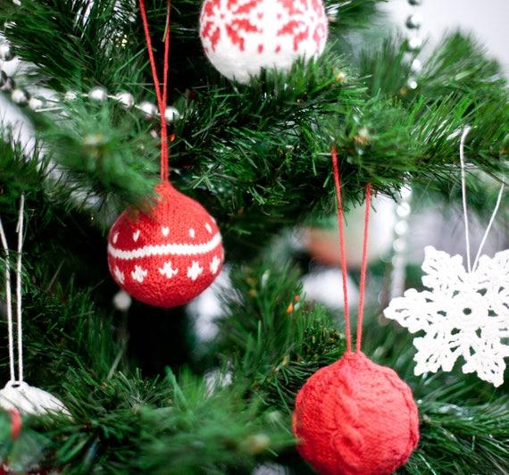 Decorated Christmas Balls Stunning Christmas Decorations Christmas Balls Knit Balls Knit 2018