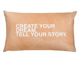 Create Your Dream Rectangular Pillow