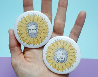 Flight of the Conchords 2.25 inch Button or Magnet Set