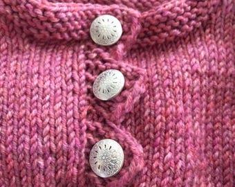 Baby Sweater Hand Knitted