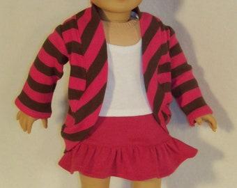 18 inch Doll Shrug Sweater