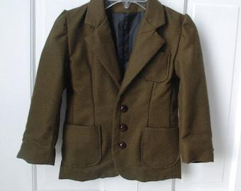 Boy's Wool Blazer