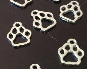 5 PC Cat Paw Charm-Dog Paw Charm