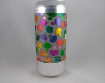 Autre moitié bière peut bougie, bougie de bières artisanales, parfumée bougie de soja