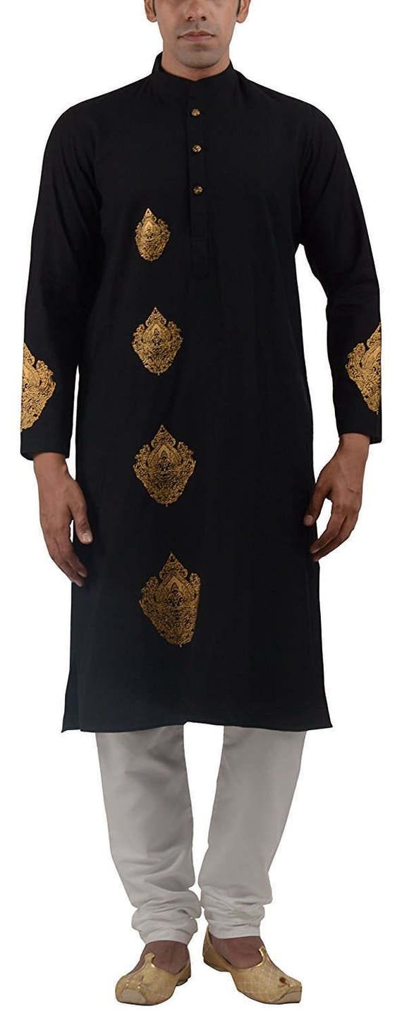 Indian Kurta - Desi - Gift for him- Traditional look- Ethnic wear-Indian party-Celebrations- Kurta for the man- Casual Kurta- Ladka- Bhai vLbpJ4R7
