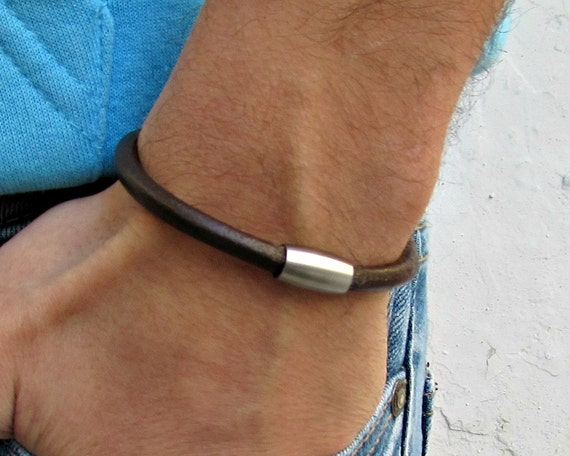 Mens Leather Bracelet,  Mens,  For Men, For Husband,  For Boyfriend, For Him, Boyfriend Gift, Gift,  Men's Bracelet,  Mens Gift
