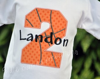 Basketball Birthday Shirt - Personalized Birthday Shirt - Basketball Birthday Party - Boys Birthday Shirt - Boys Basketball Shirt - Sports