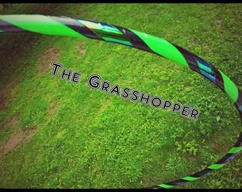 Grasshooper Morph Mash-Up Dance Hoop Green Scarab Custom Collapsible Hula Hoop