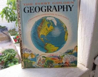 The First Golden Geography - A Little Golden Book