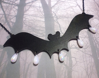Creepy-Cute Bat Necklace