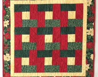 Quilted Christmas wall hanging