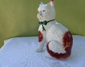 Porcelain Kittie Door Stopper,China Cat