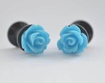 Baby Blue Plugs 6mm